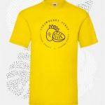 t-shirt uomo fruit 61036 giallo
