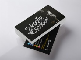 Skoolie Escobar Business Card Design