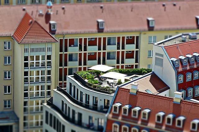 roof garden idea for relaxing