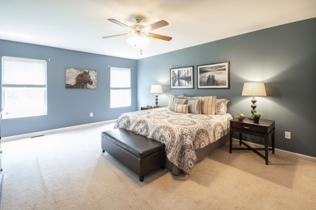 inspiring white and grey colors for master bedroom paint