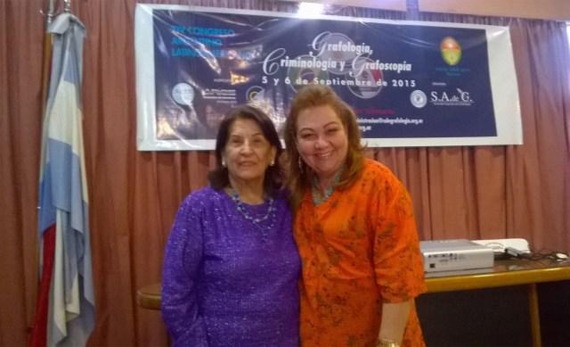 MercedezsGorraiz e Elisabeth ROmar