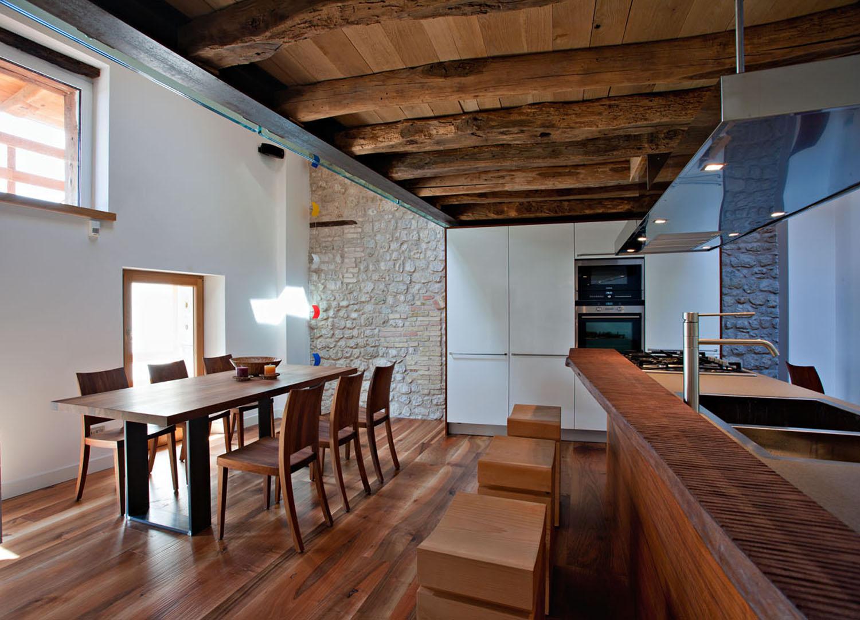 Interior Design Rustico A Pordenone Graphosds
