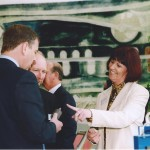 Prince Andrew meets Carole Mulholland