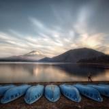 Motosu Lake Mt Fuji-san