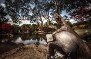 Nara painter