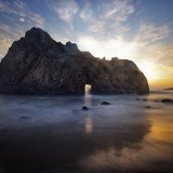 The Arch of Pfeiffer beach