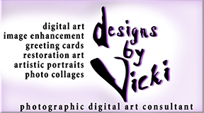 Designs by Vicki, photographic digital art consultant