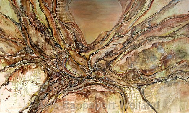Roots of Wisdom - Original sold - Full-size limited edition canvas print - $1,350