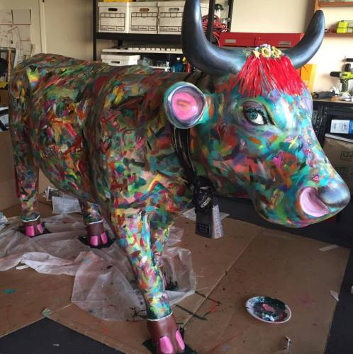 Harmony of Love - SLO CowParade