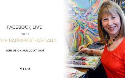 August 20 Facebook LIVE Event Hosted by VIDA & Gayle