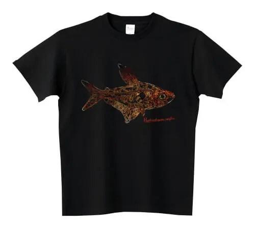 レッドファントムテトラ Tシャツ