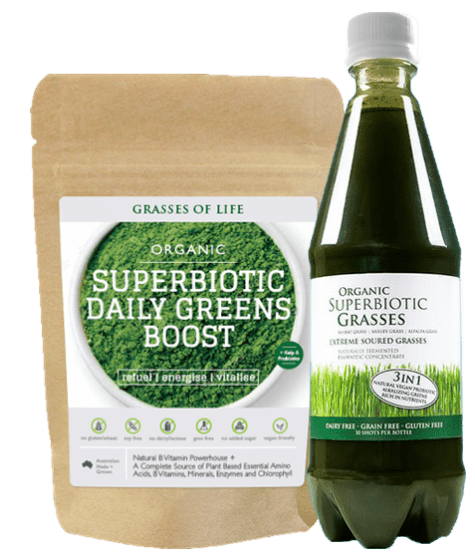 Superbiotic Grasses and Daily Greens Boost