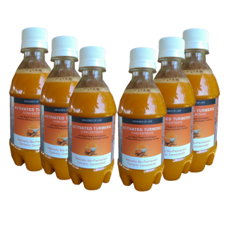 Grasses of Life Activated Turmeric 6 Pack 300ml