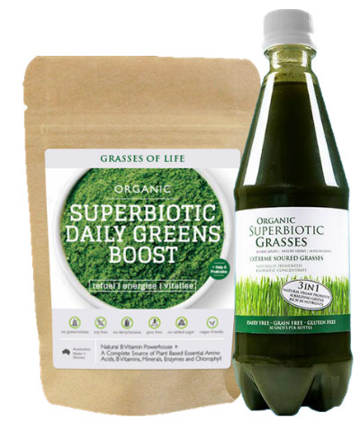 Superbiotic Daily Greens Superbiotic Grasses Combo Pack