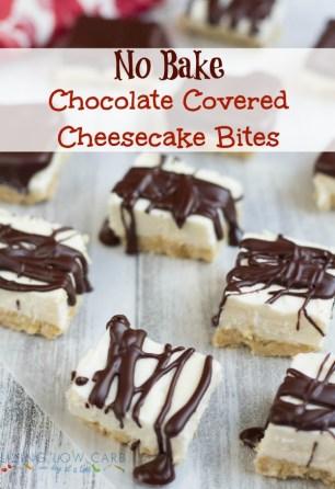 Chocolate-Cover-Cheesecake-Bites