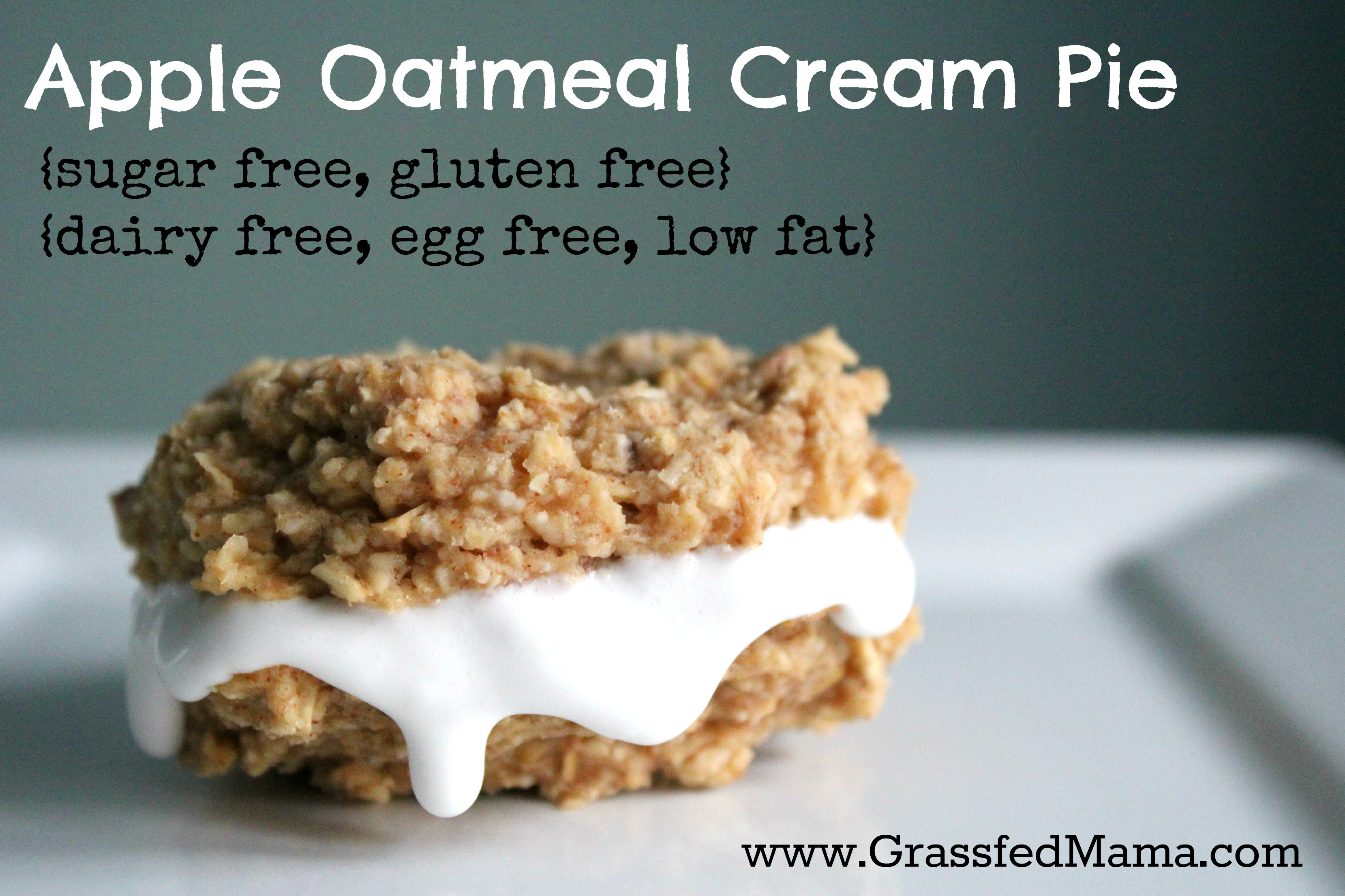 Sugar free, gluten free, low fat, egg free
