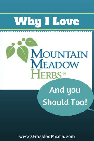 Why I love Mountain Meadow Herbs Grassfed Mama