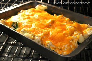 Low Carb Broccoli Tuna Casserole Bake
