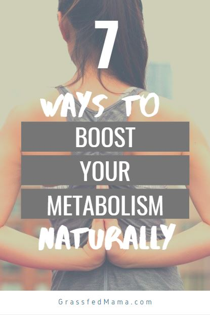 7 ways to boost metabolism