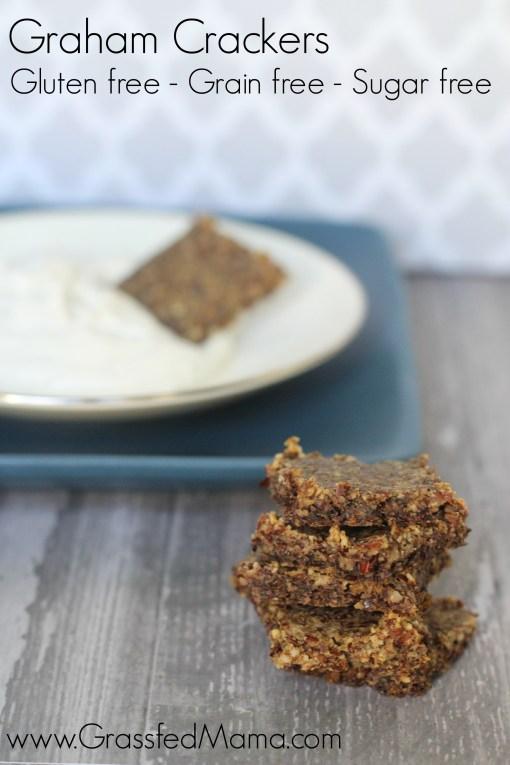 sugar free graham crackers gluten free grain free paleo