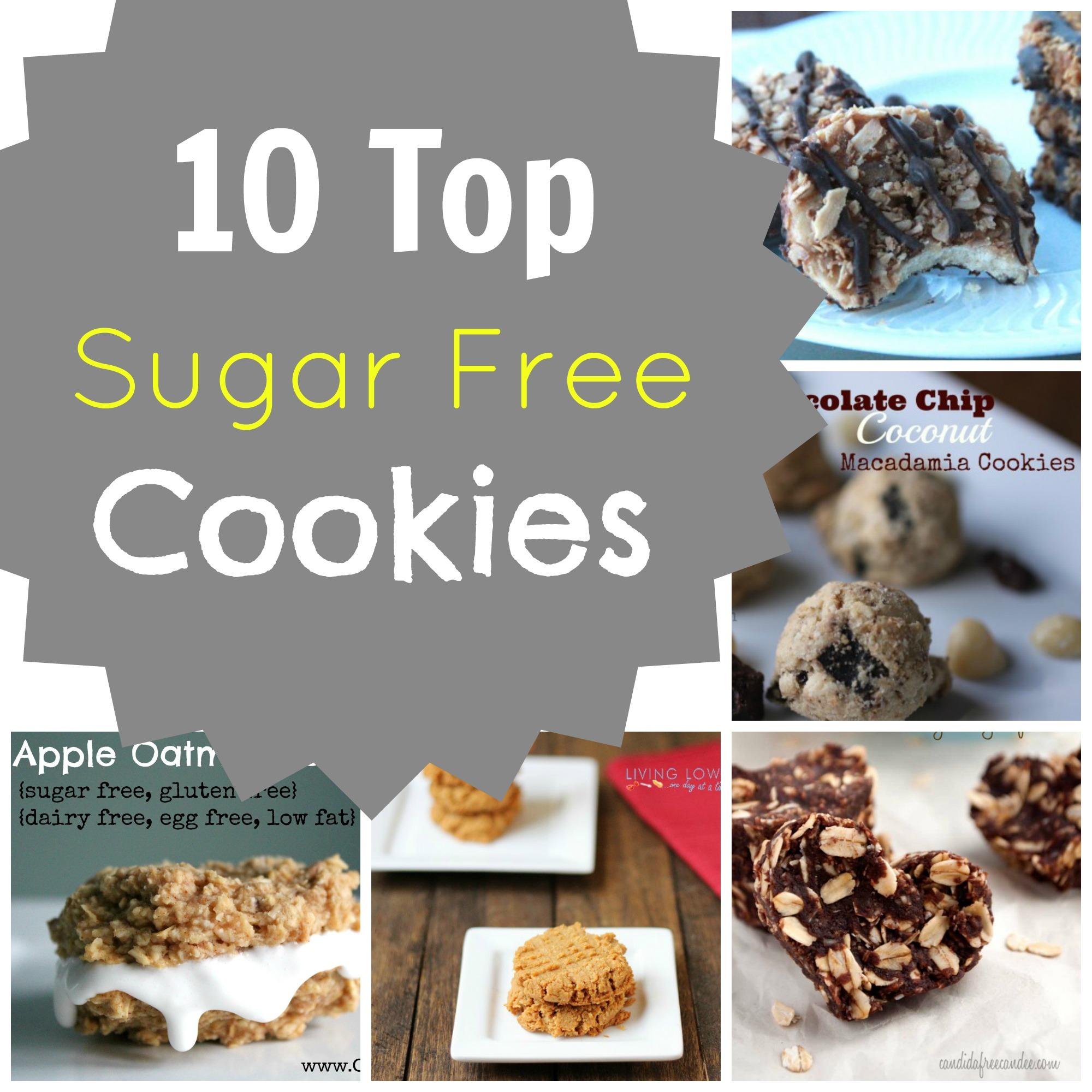 10 Top Sugar Free Cookies Grassfed Mama