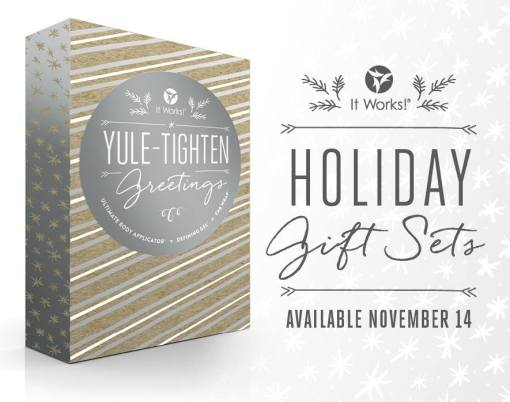 It Works Holiday Packs