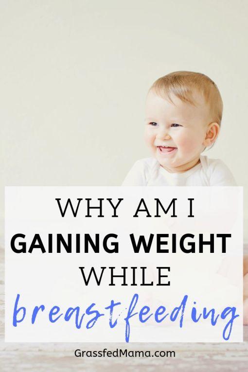 Why am I Gaining Weight while Breastfeeding?
