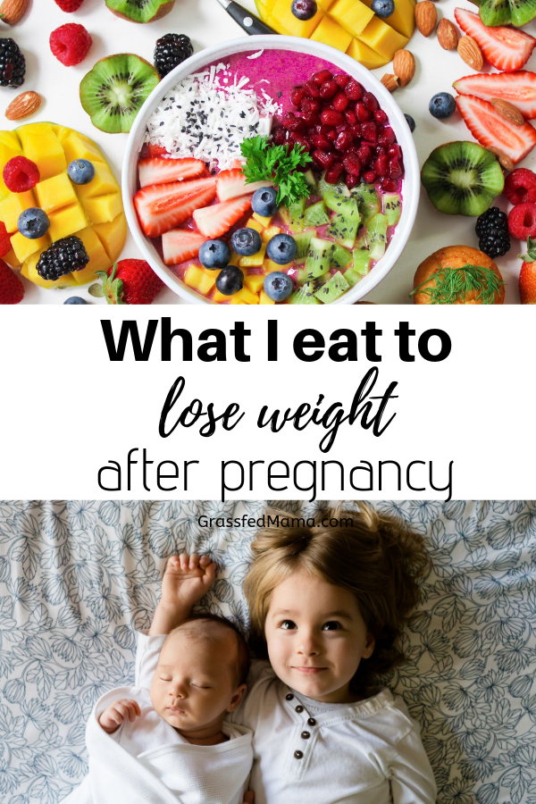 Nursing Mamas meal plan for weight loss
