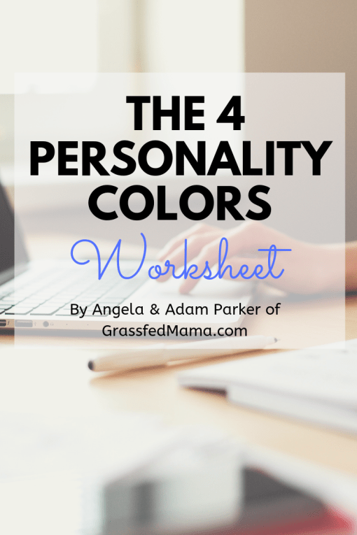 The 4 Personality Colors