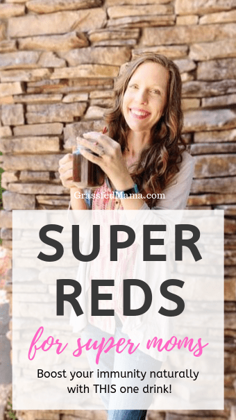 Super Reds for Super Moms