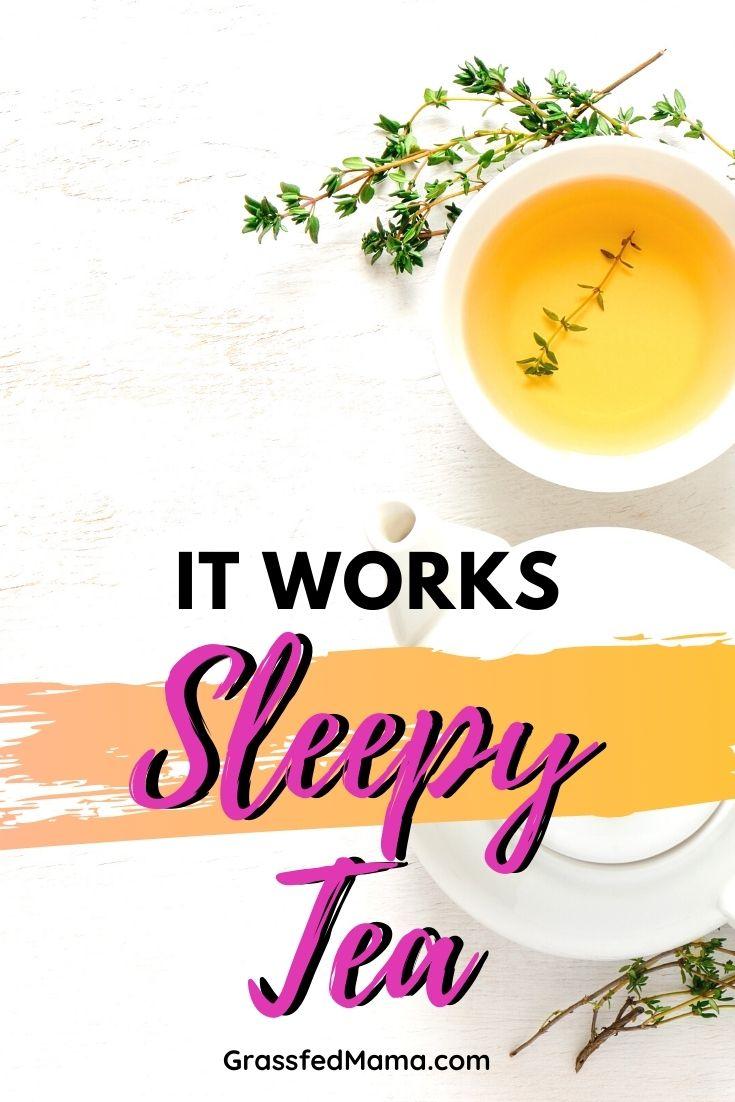 It Works Sleepy Tea Review