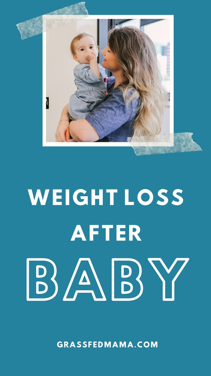 weight loss after pregnancy and weaning