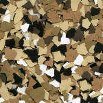 Sandstone Color Flakes For Garage Floor Epoxy
