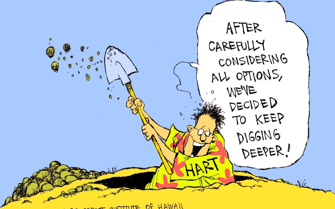 HART frustrates state audit