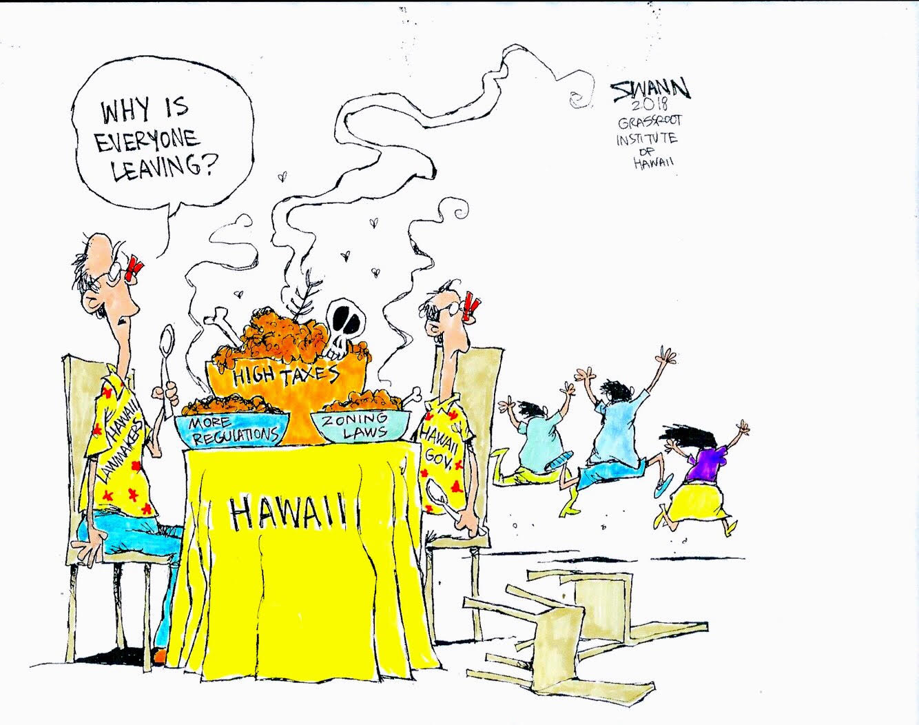 Why are people leaving Hawaii?