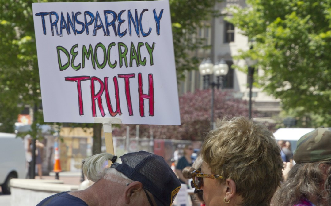 Transparency in government is critical at all times
