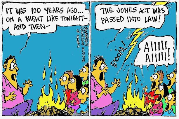 Happy birthday, Jones Act … not!