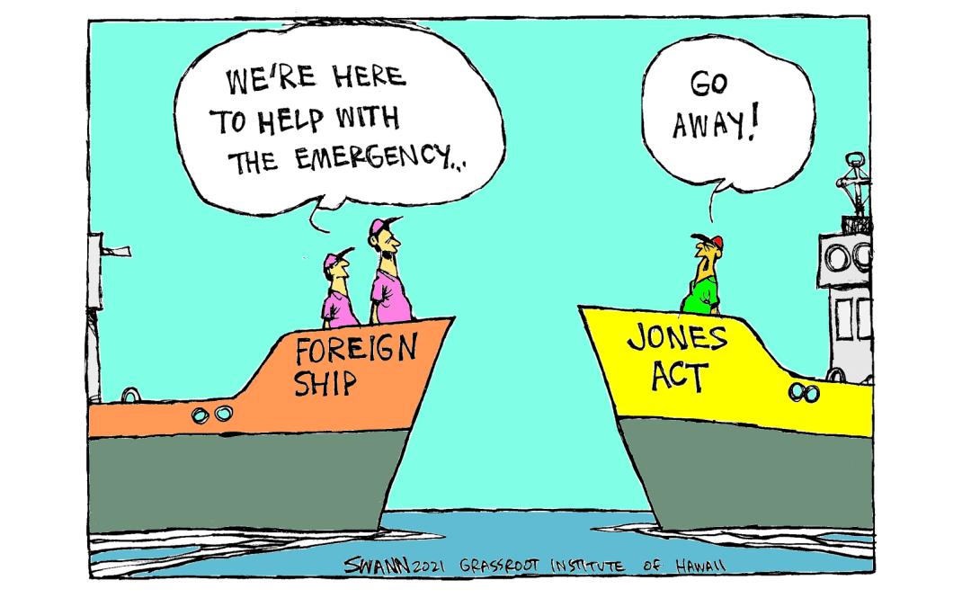 Waiver goodbye to the Jones Act?
