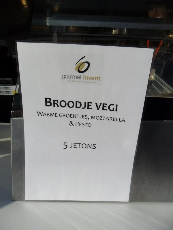 Broodje Vegi @ Jazz Gent Festival
