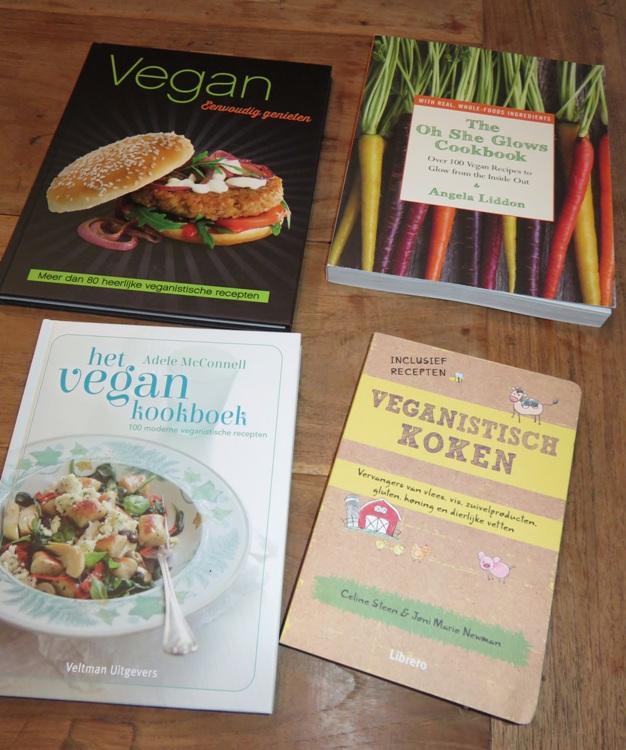 4 vegan kookboeken