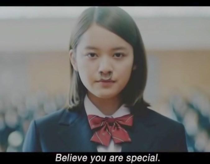 Geloof dat je speciaal bent