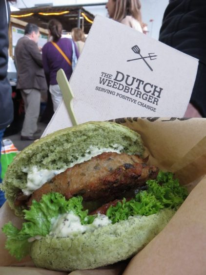 the Dutch Weedburger, Veggieworld 2017