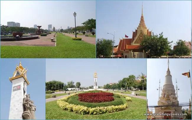 A nice stroll in Phnom Penh.