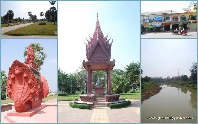 Cool sights around Battambang.