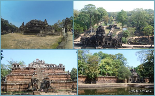 More temples of Angkor Thom.