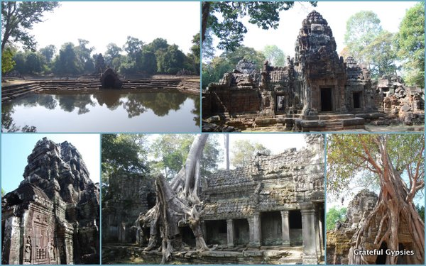 Some of the temples on the Grand Tour.