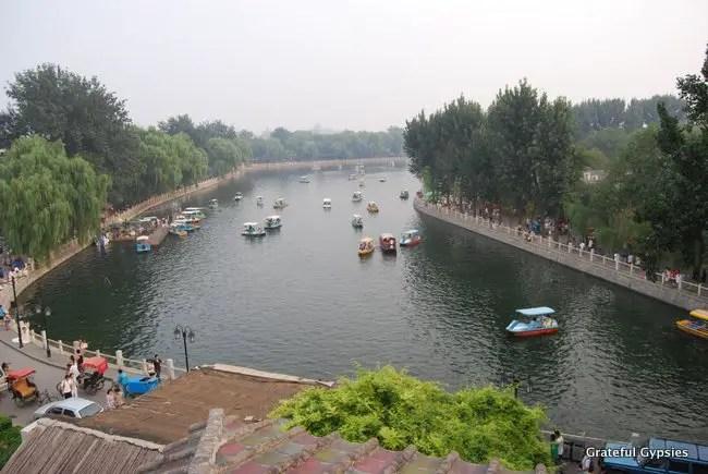 Go boating on Hou Hai.