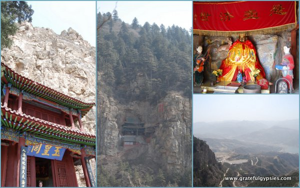 One of the holiest mountains in China - Mt. Heng.