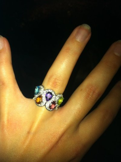 Super heady ring for a super heady girl!