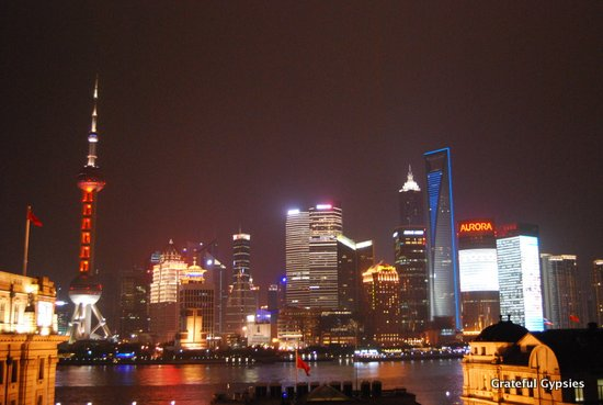 Shanghai is a popular choice with expats.